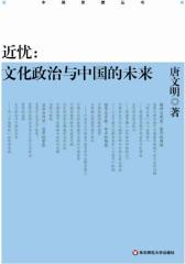 中国思想丛书·近忧:文化政治与中国的未来