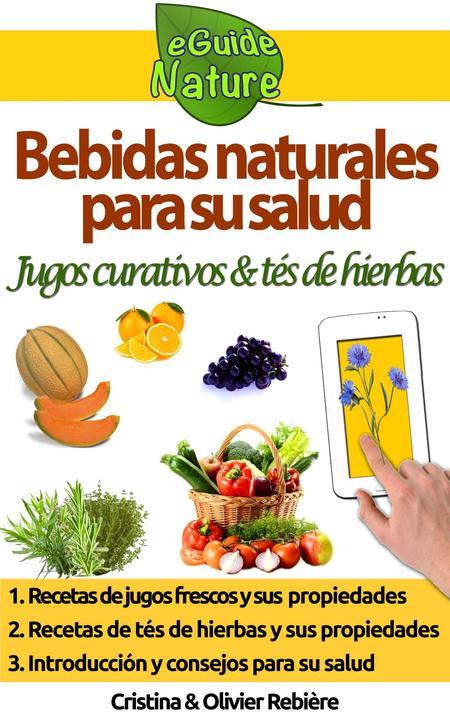 Bebidas naturales para su salud