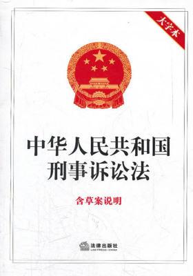 中华人民共和国刑事诉讼法:含草案说明(大字本)