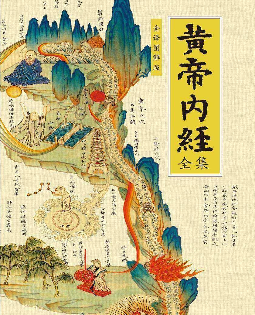 黄帝内经全集(全译图解版)