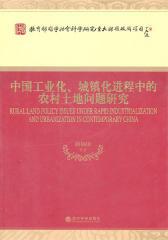 中国工业化、城镇化进程中的农村土地问题研究(仅适用PC阅读)