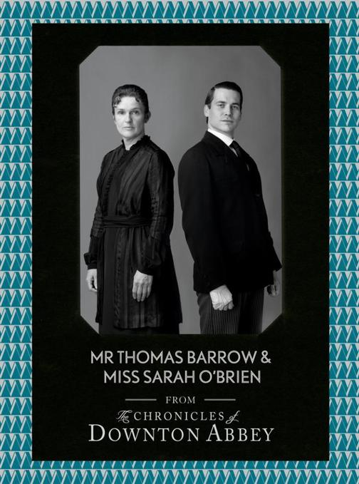 Mr Thomas Barrow and Miss Sarah O'Brien