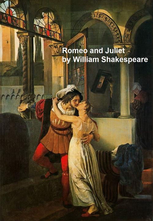Romeo and Juliet, with line numbers