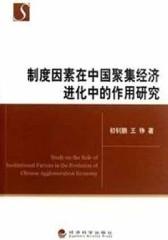 制度因素在中国聚集经济进化中的作用研究(仅适用PC阅读)