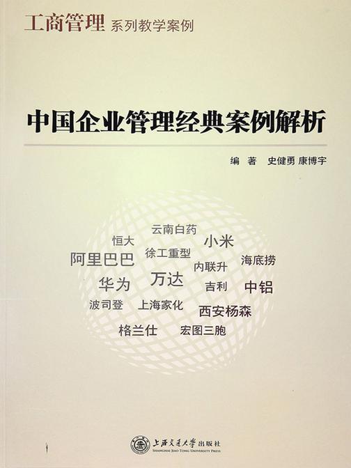 中国企业管理经典案例解析