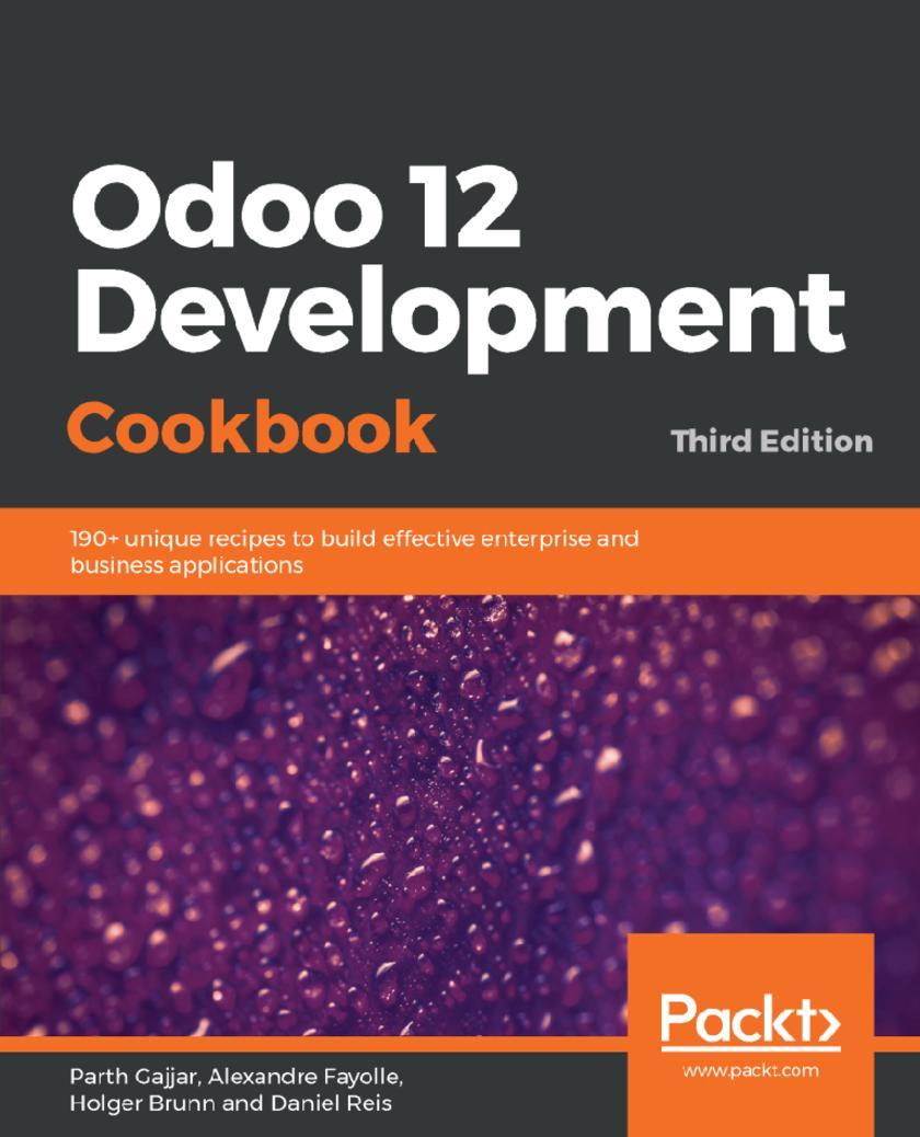 Odoo 12 Development Cookbook