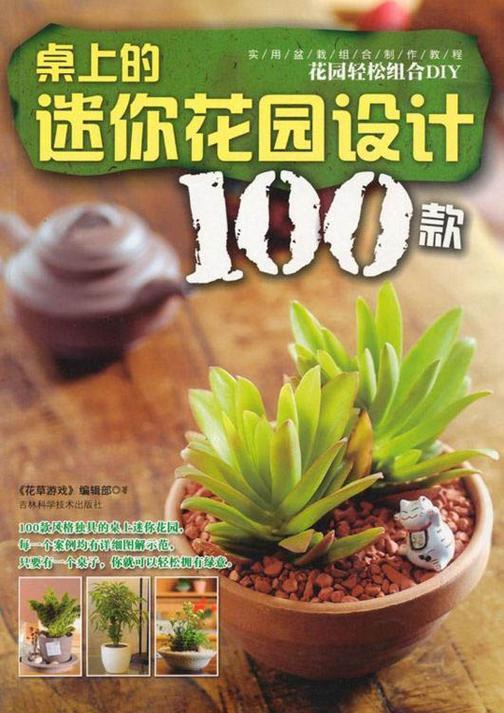 桌上的迷你花园设计100款(实用盆栽组合制作教程)