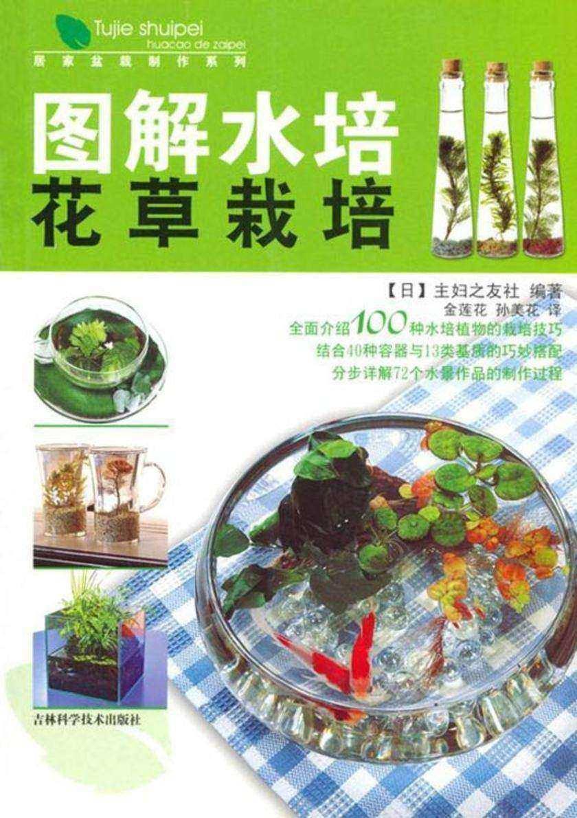 图解水培花草栽培