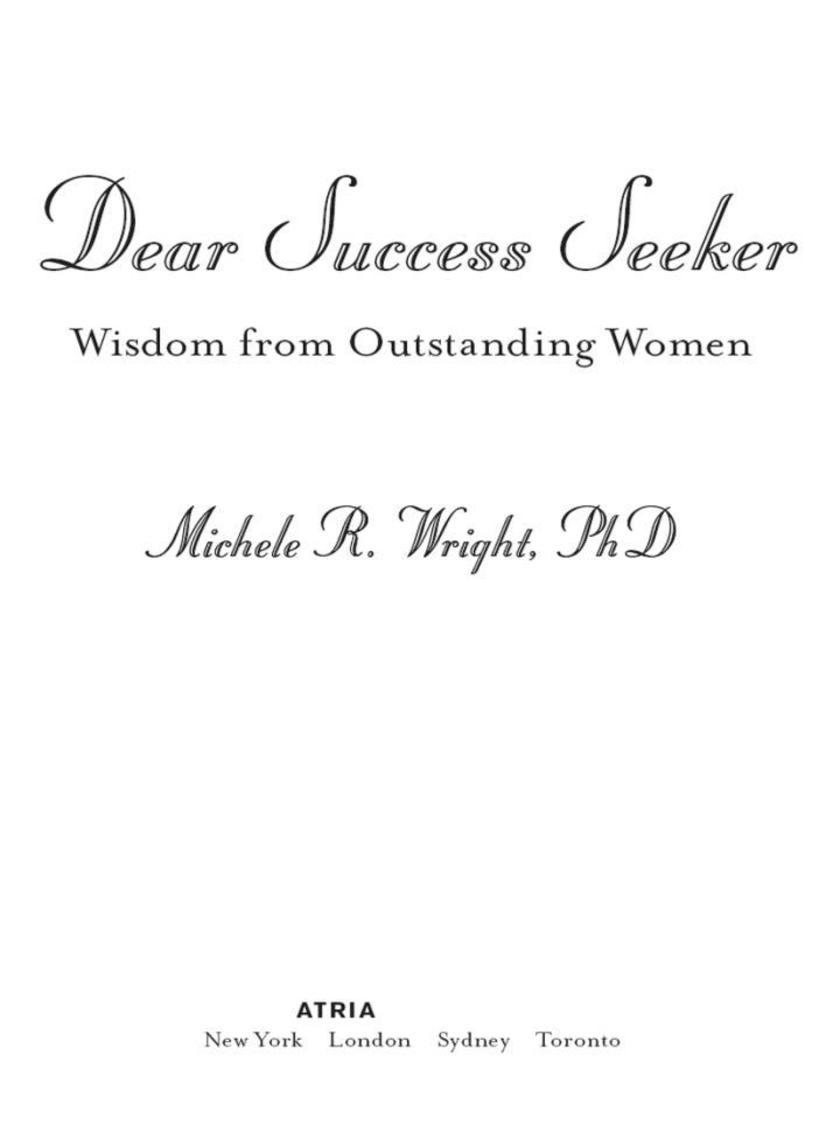 Dear Success Seeker