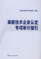 高新技术企业认定专项审计指引