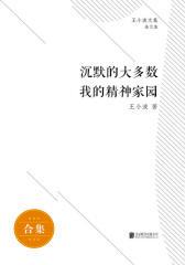 王小波杂文全集(套装共2册)沉默的大多数+我的精神家园
