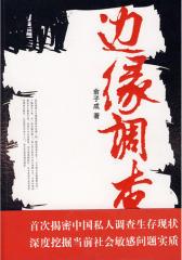 边缘调查(首次揭密中国私人调查生存现状深度挖掘当前社会敏感问题实质)(试读本)