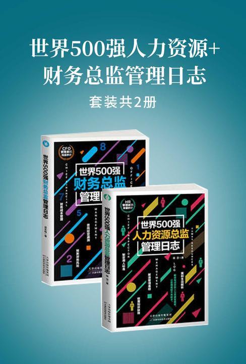 世界500强人力资源+财务总监管理日志(套装共2册)