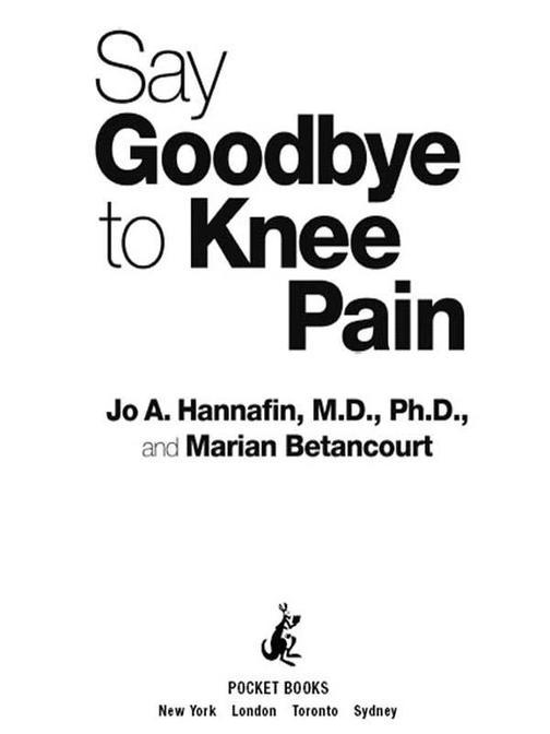 Say Goodbye to Knee Pain