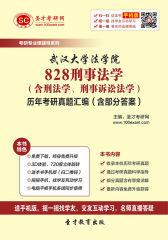 武汉大学法学院828刑事法学(含刑法学、刑事诉讼法学)历年考研真题汇编(含部分答案)(仅适用PC阅读)