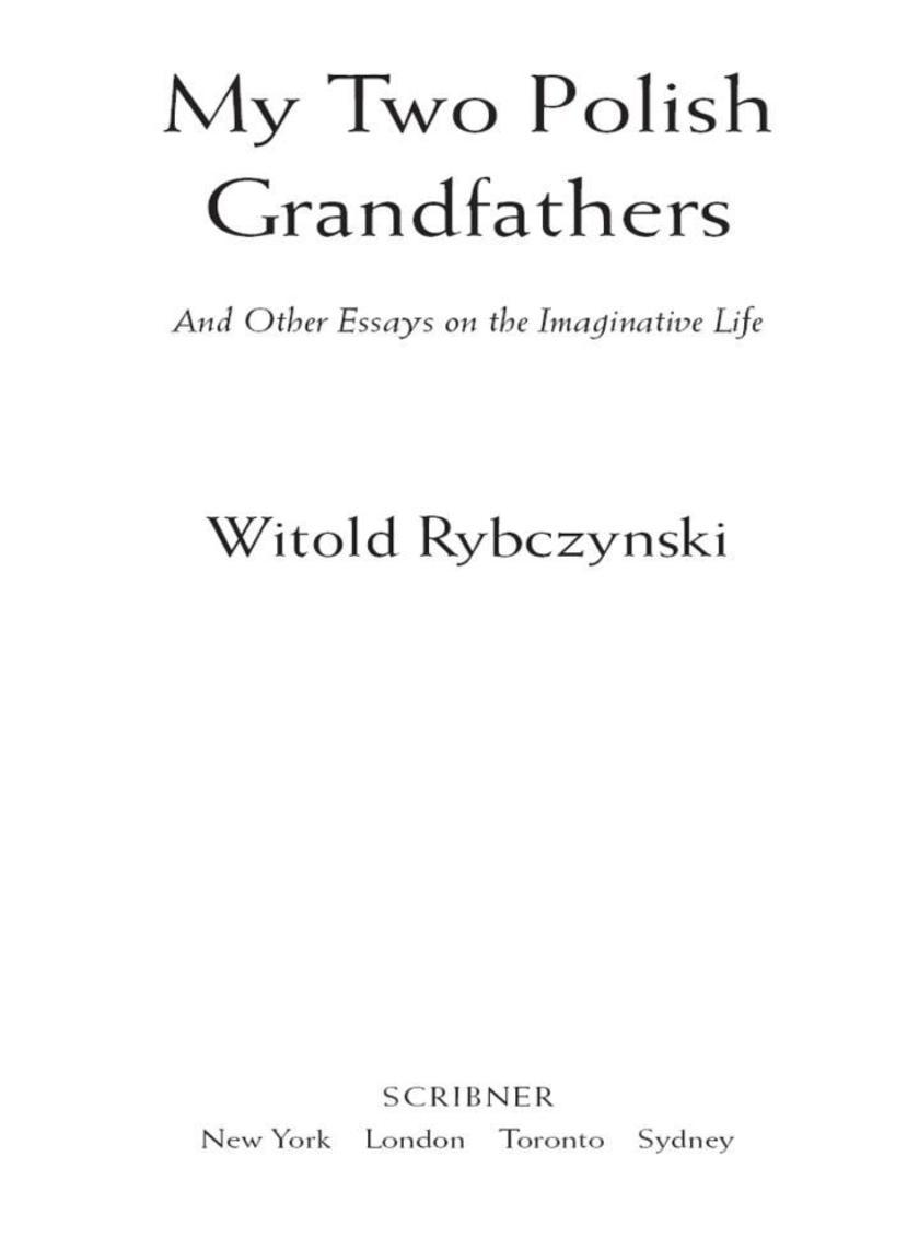 My Two Polish Grandfathers