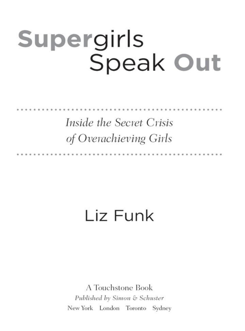 Supergirls Speak Out