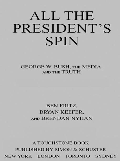 All the President's Spin