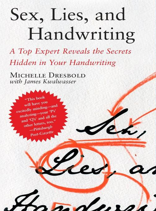 Sex, Lies, and Handwriting