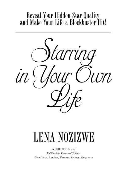 Starring in Your Own Life