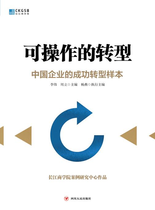 可操作的转型:中国企业的成功转型样本