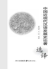 中国近现代汉语发展史论著选译(仅适用PC阅读)