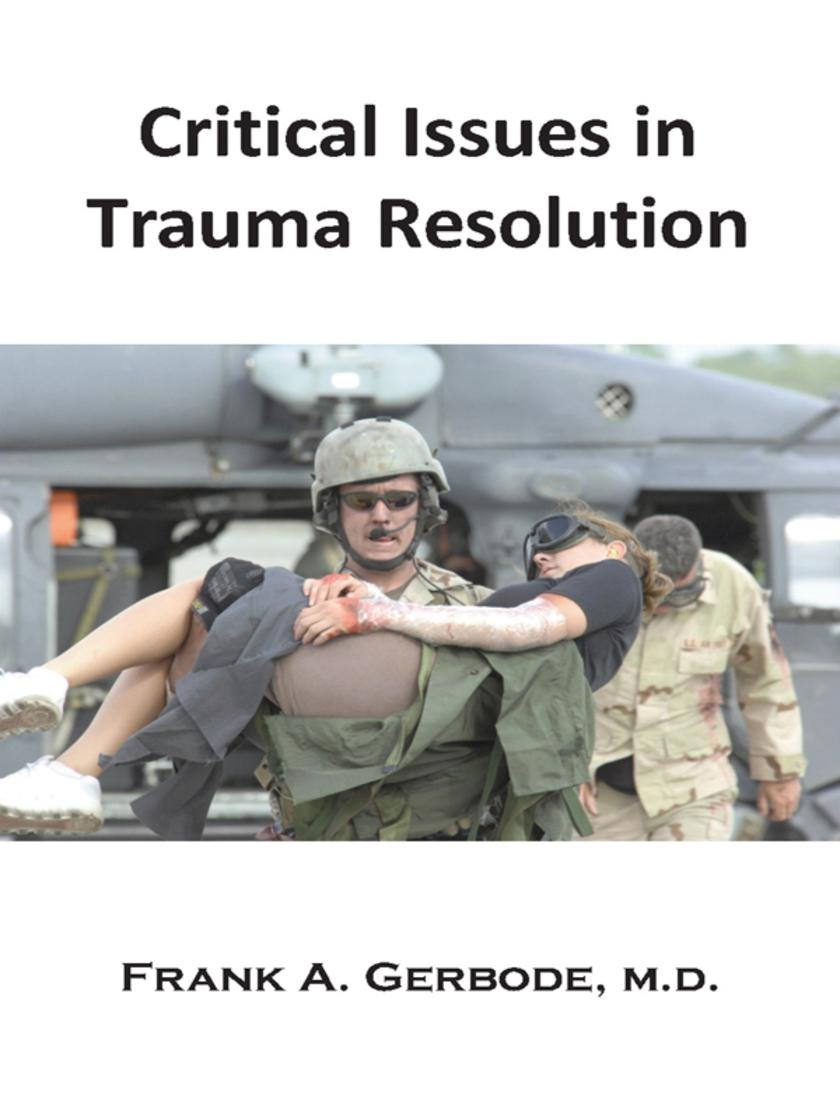 Critical Issues in Trauma Resolution:The Traumatic Incident Network