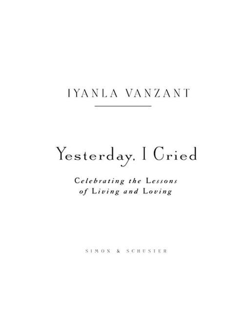 Yesterday, I Cried