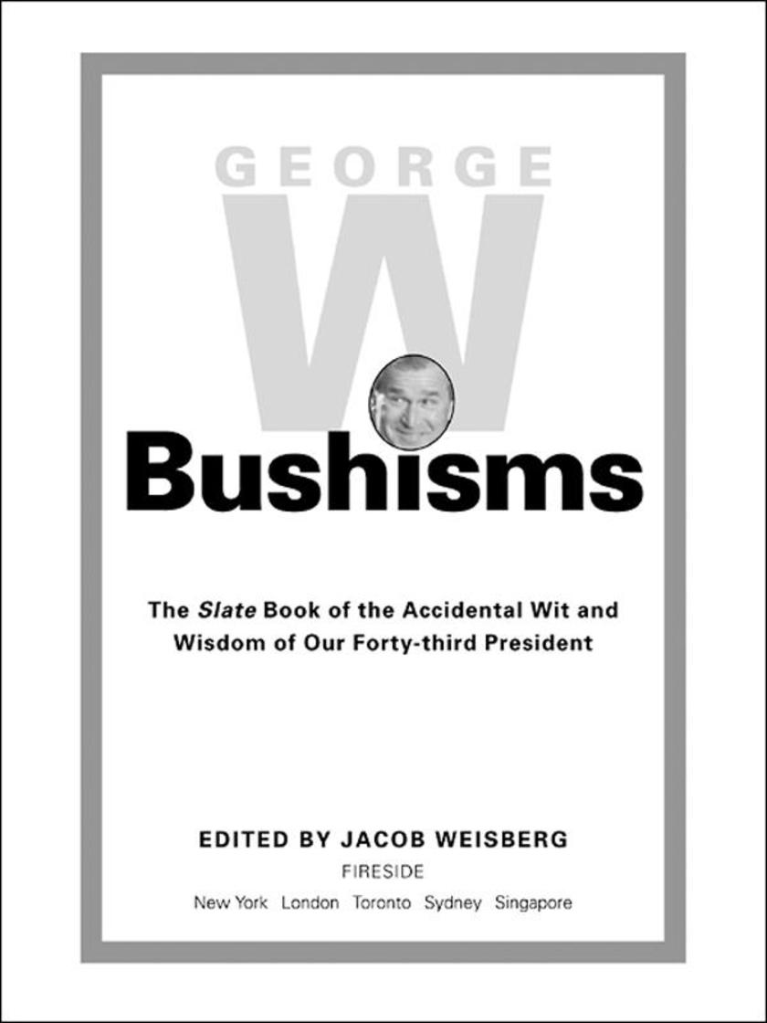 George W. Bushisms
