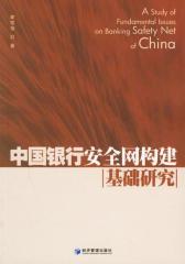 中国银行安全网构建基础研究(仅适用PC阅读)
