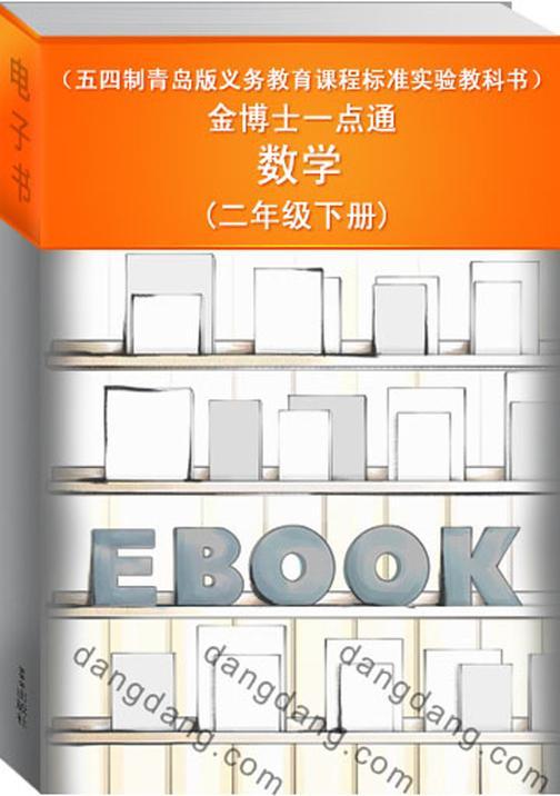 金博士一点通·数学(二年级下册)(五四制青岛版义务教育课程标准实验教科书)