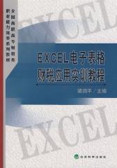 EXCEL电子表格财税应用实训教程(仅适用PC阅读)