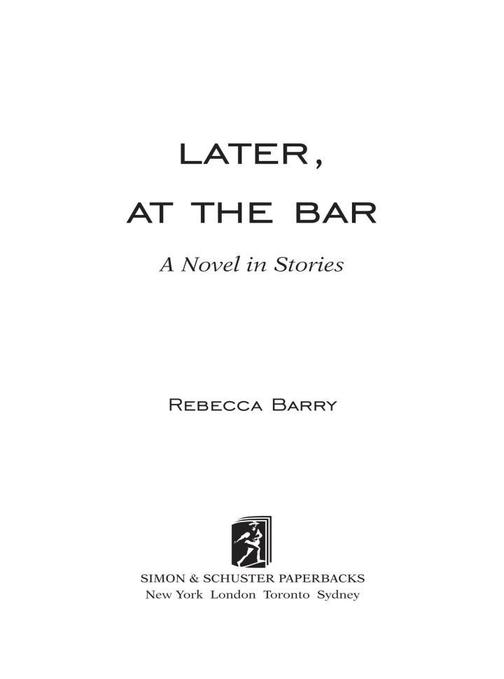 Later, at the Bar