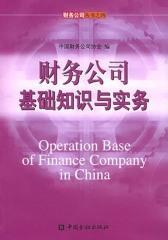 财务公司基础知识与实务