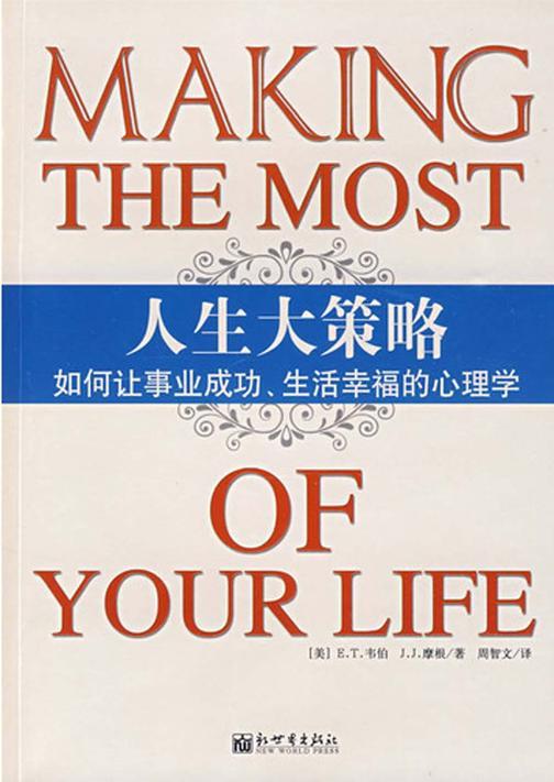 人生大策略:如何让事业成功、生活幸福的心理学