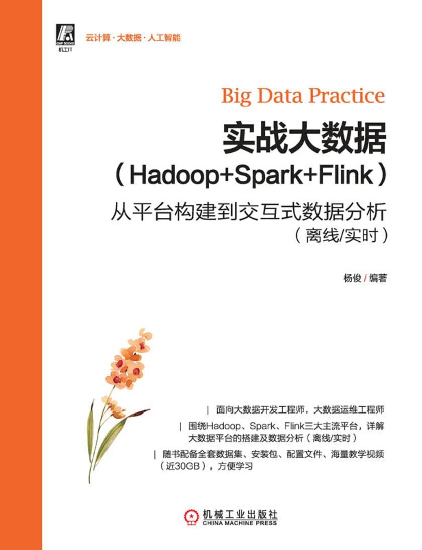 实战大数据(Hadoop+Spark+Flink)——从平台构建到交互式数据分析(离线/实时)