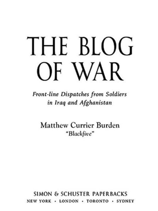 The Blog of War