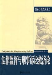 法律监督与刑事诉讼救济论(仅适用PC阅读)