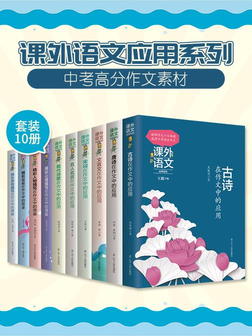 课外语文应用系列—在作文中的应用(套装10册)