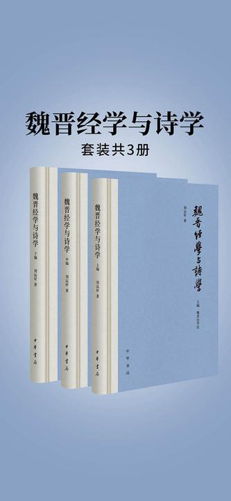 魏晋经学与诗学(全三册)