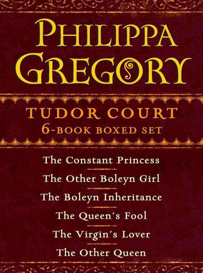 Philippa Gregory's Tudor Court 6-Book Boxed Set