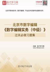 2017年北京市数字编辑《数字编辑实务(中级)》过关必做习题集