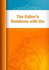 The Editor's Relations with the Young Contributor