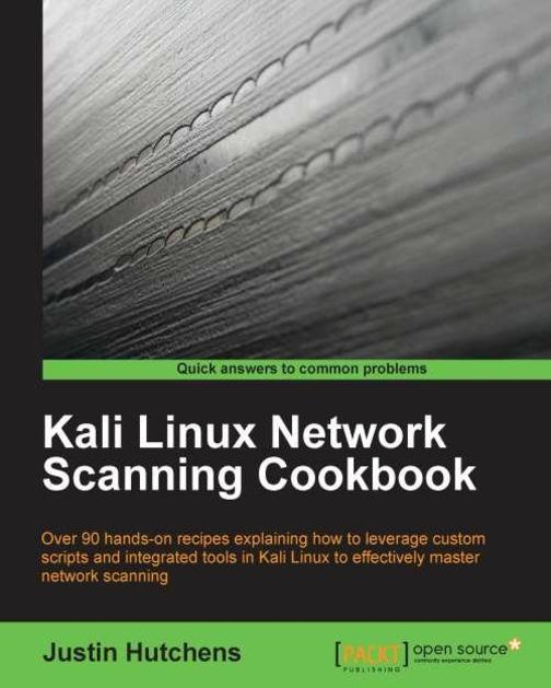 Kali Linux Network,Scanning Cookbook