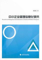中小企业管理信息化研究(仅适用PC阅读)