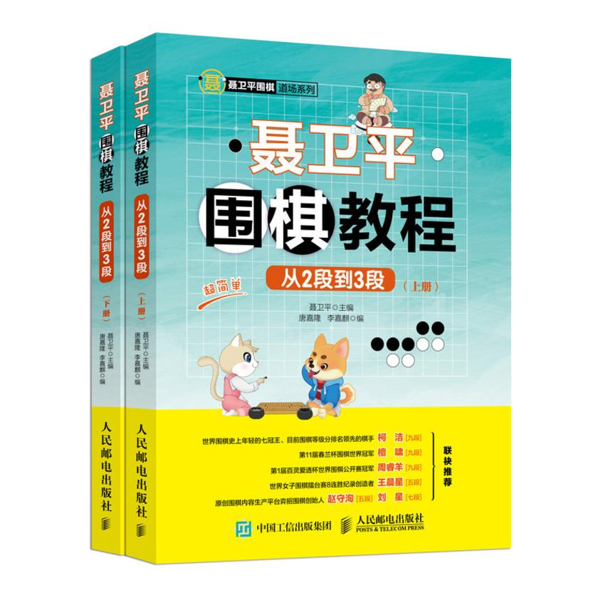 聂卫平围棋教程(从2段到3段)