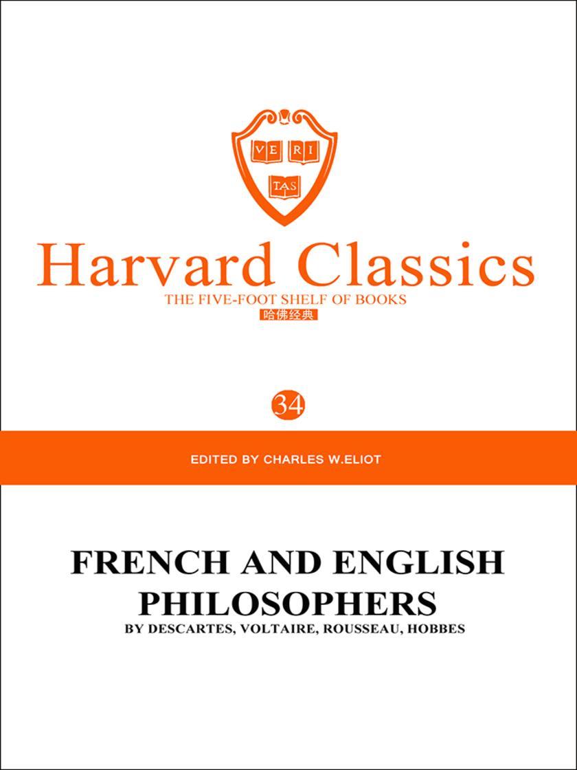 百年哈佛经典第34卷:法国和英国著名哲学家(英文原版)
