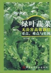 绿叶蔬菜无公害高效栽培重点、难点与实例