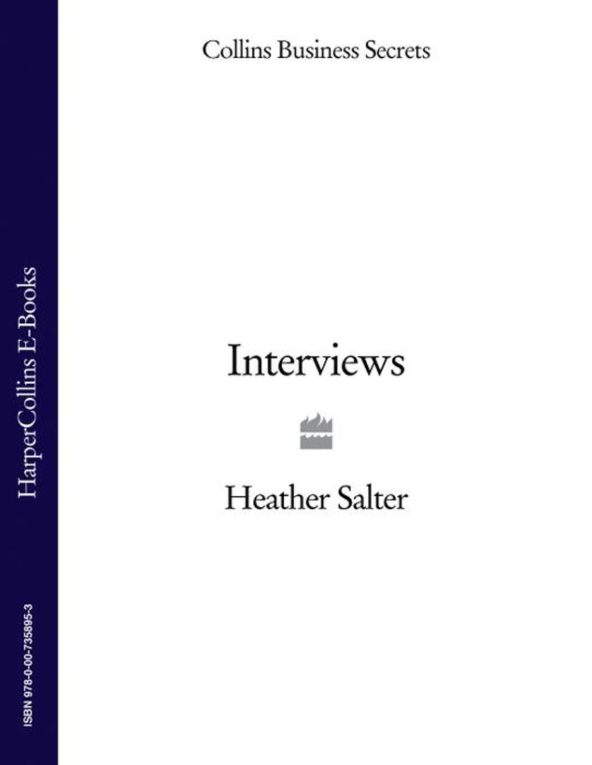 Interview (Collins Business Secrets)
