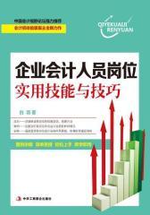 企业会计人员岗位实用技能与技巧(试读本)(仅适用PC阅读)